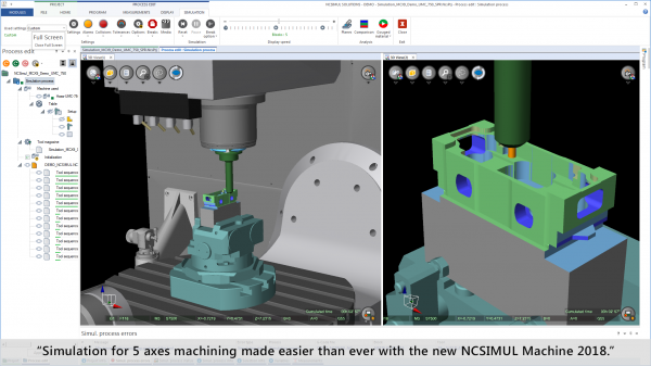 NCSIMUL MACHINE
